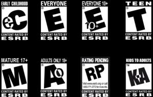 Rating game yang biasa digunakan